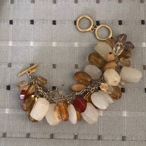 Avon Mark Drops of Rocks Bronze Bracelet